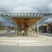Bahnhofsbereich Olsberg - Bussteig