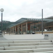 Bahnhofsbereich Olsberg - Ansicht