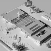 Omnibusbahnhof Hameln - Modell