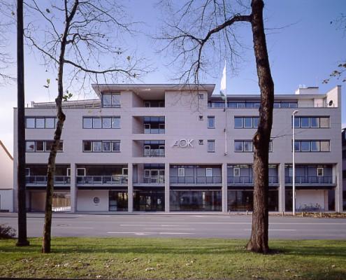 AOK Paderborn - Straßenansicht