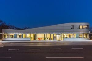 Empfangsgebäude PTB Braunschweig - Straßenansicht