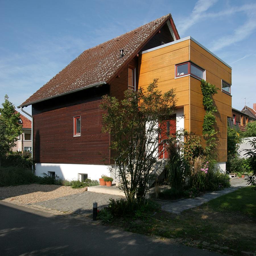 Haus S hsv Architekten Braunschweig