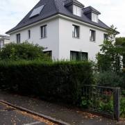 Haus R - Ansicht Straße