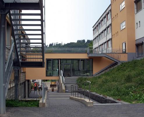 Berufsbildende Fachschule, Olsberg - Hof Ansicht