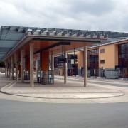 Bahnhofsbereich Olsberg - Vordach