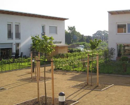 Selbstbausiedlung Rautheim - Ansicht Platz