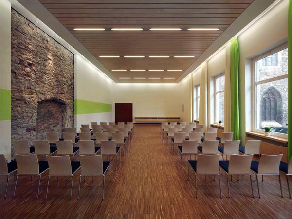 Theologisches zentrum braunschweig hsv architekten bda for Architekten in braunschweig