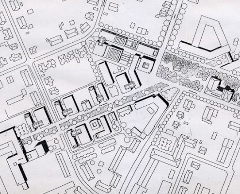 Fachhochschule Dessau - Lageplan