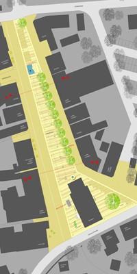 Marktplatz Visselhöfede - Lageplan