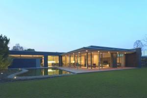 Haus R - Gartenansicht