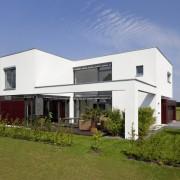 Haus V - Ansicht Garten