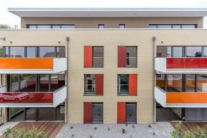 Wohnen am Glockenberg - Ansicht Balkone