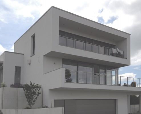Haus H_03 - Ansicht Straße