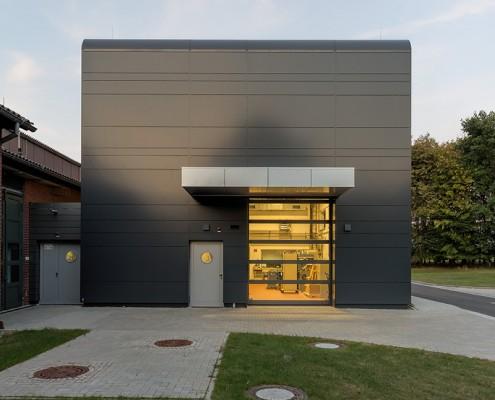 Sicherheitstechnik PTB Braunschweig - Zugang Versuchshalle