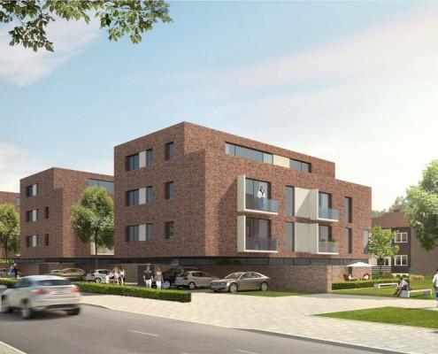 Ahlumer Siedlung, Wolfenbüttel - Perspektive