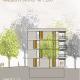 Wohnungsneubau Wellekamp Wolfsburg - Ansicht Nord_Haus 1-2
