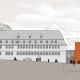 Informationszentrum Hochschule Nürtingen - Ansicht Ost