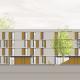Wohnungsneubau Wellekamp Wolfsburg - Ansicht Ost_Haus 4
