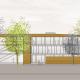 Wohnungsneubau Wellekamp Wolfsburg - Ansicht Ost_Sozialstation