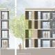 Wohnungsneubau Wellekamp Wolfsburg - Fassadendetail