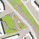 Neugestaltung des ZOB Oberhof, Gladbeck - Grundriss