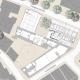 Informationszentrum Hochschule Nürtingen - Grundriss Ebene 1