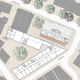 Informationszentrum Hochschule Nürtingen - Grundriss Ebene 3