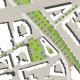 Neugestaltung des ZOB Oberhof, Gladbeck - Lageplan