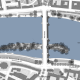 Alte Brücke Frankfurt am Main - Lageplan