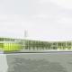 Neubau IGS Wilhelm Bracke - Perspektive