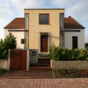 Haus H - Ansicht Eingang