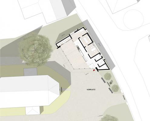 Neubau eines Gemeindehauses in Adenstedt - Grundriss